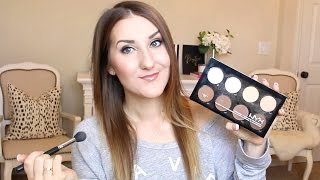 Download NYX Contour/Highlight Palette DEMO & REVIEW Video