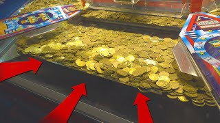 Download BIGGEST COIN PUSHER JACKPOT EVER!! Video