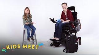 Download Kids Meet a Teen With Chronic Illness | Kids Meet | HiHo Kids Video
