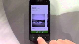 Download Windows Phone Spotify app on ″Mango″ Video
