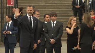 Download Felipe VI, recibido en Barcelona a gritos de ″¡Viva el Rey!″ Video