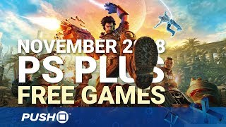 Download Free PS Plus Games Announced: November 2018 | PS4, PS3, Vita | Full PlayStation Plus Lineup Video