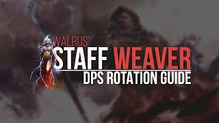 Download (Outdated) Staff Weaver DPS Rotation Guide Video