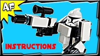 Download Star Wars Clone Trooper HARDSUIT ARMOR Instructions from Custom R/C Turbo Tank Video
