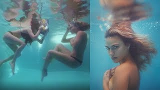 Download Shooting Underwater for the First Time, Behind The Scenes Video