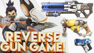 Download OVERWATCH REVERSE GUN GAME CUSTOM GAMEMODE!? Video
