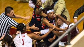 Download Brawl at Alabama Auburn women's basketball game leads to suspensions Video