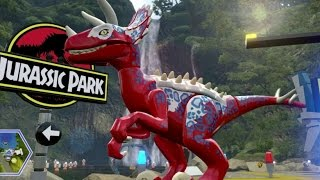 Download LEGO Jurassic World - Jurassic Park Hub 100% Guide #1 - Brachiosaurus Plains & Raptor Territory Video
