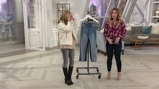 Download Laurie Felt Silky Denim Ankle Skinny Zip Fly Jeans on QVC Video