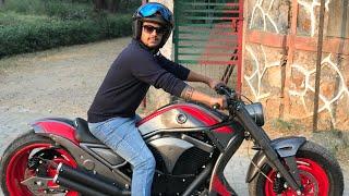 Download Bajaj Avenger modified | Bike Modification | into Harley davidson | Vampvideo | Video