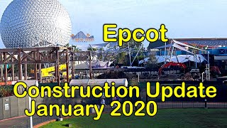 Download Disney's Epcot - Construction Update - MAJOR CHANGES - January 2020 Video