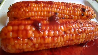 Download Boil Corn with Tamarind sauce - يغلي الذرة مع صلصة التمر الهندي - タマリンドソース和え茹でとうもろこし - 煮玉米与罗望子酱 Video