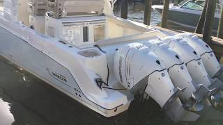 Download 2018 Boston Whaler 420 Outrage 60th Anniversary Edition For Sale at MarineMax Sarasota Video