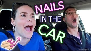 Download Painting my Nails in the Car Video