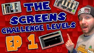 Download ″THE SCREENS″ Challenge Levels EP 1 Super Mario Maker Video