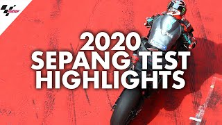Download HIGHLIGHTS | 3 Days of Action from the 2020 Sepang Test! Video