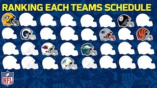 Download Ranking Every Team's 2018 Strength of Schedule | NFL Highlights Video