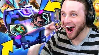 Download Clash Royale: 12 SUPER MAGICAL CHESTS | ALL LEGENDARIES?! Video