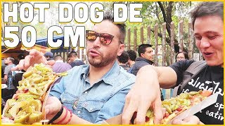 Download INCREÍBLES Hot Dogs GIGANTES ft Mark Wiens Video