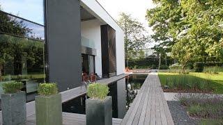 Download Miroir d'eau et un bassin a koi contemporain Video