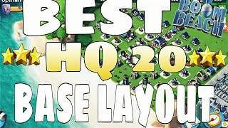 Download Boom Beach | Best HQ 20 Base Layout Design!!! | High Level Video