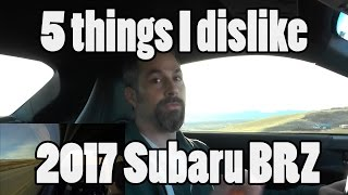 Download 5 things I dislike about my 2017 BRZ Video