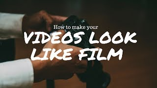 Download Make Your Videos LOOK Like FILM! (IN Final Cut Pro X) Video