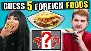 Download Adults Try To Guess 5 Foreign Foods | People Vs. Food Video