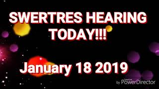 Download SWERTRES HEARING (STL) TIP JANUARY 19 2019 Video