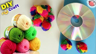 Download Best Craft Idea at Home   DIY Room Decor   Woolen Wall Hanging   Best out of Waste Handmade Things Video