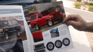 Download Tom's Toys 1996 Ford Bronco Sport 65k New Goodyear Wrangler Radials Video