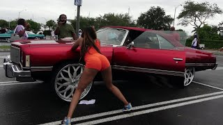 Download Veltboy314 - Donk Day 2018 (Preview)(Whips, Girls, Big Wheels, Candy Paint) - Miami, FL 5-2018 Video