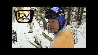 Download Raab in Gefahr beim Skispringen - TV total Video