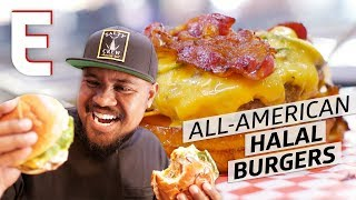 Download Detroit's Best Burger is Prepared Halal in a Gas Station — Cooking in America Video