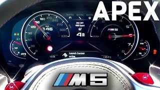 Download 2018 BMW M5 F90 / G30 - Acceleration 0-100 km/h, Sound, Start-Up & Revs | APEX Video