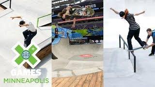 Download Men's Skate Street Qualifier, Next X Skate Park & Street: FULL BROADCAST | X Games Minneapolis 2018 Video