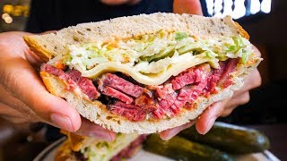 Download LA Historic Food Tour - BEST PASTRAMI and PRIME RIB | Top Restaurants in Los Angeles, USA! Video