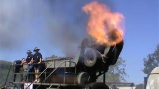 Download Giant diesel startup Antique generator engine Duvant 9VOS Video
