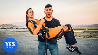 Download Asking Strangers to go Skydiving on the Spot!! Video