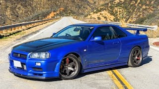 Download Nissan R34 Skyline GTR - One Take Video