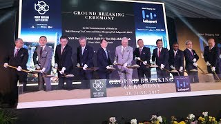 Download Construction begins on highly anticipated Bukit Bintang City Centre Video