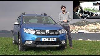 Download 2017 Dacia Sandero Stepway restylée [ESSAI VIDEO] : Stepway to heaven (prix, avis, motorisations) Video