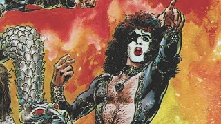 Download KISS printed comics using their own blood?! Video
