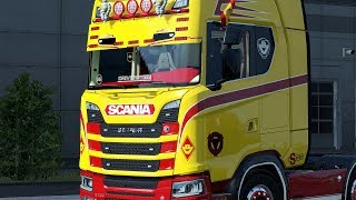 Download ✅ ETS2 1.30 - Custom Sunshield Scania Next Gen Video