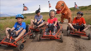 Download Dinosaur Dune Buggy Chase! T REX! Video