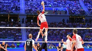 Download TOP 40 MONSTER Volleyball 3rd Meter Spikes | Mens World Championship 2018 Video