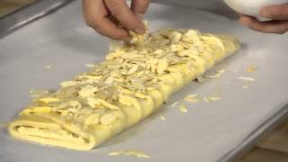 Download Danish Pastry Braid With Almonds : Wild Flour Video