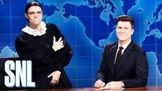 Download Weekend Update: Justice Ruth Bader Ginsburg on Brett Kavanaugh - SNL Video