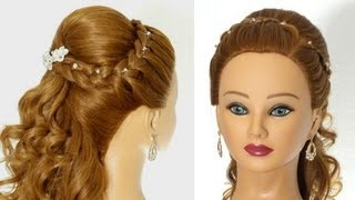 Download Wedding prom hairstyles for long hair. Greek Goddess Hairstyle Video
