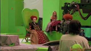 Download Alice In Wonderland-Behind the Scenes Video